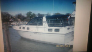 REDUCED selling our carver 28 foot riveria