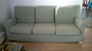 sofa vert lime superbe condition