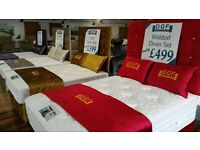 DOUBLE BED SETS ONLY £199 AT DQF STORES