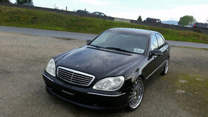 1999 Mercedes-Benz S-Class Sedan