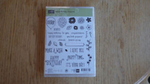 Stampin'Up stamps