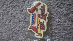 St Louis cardinals luggage tag