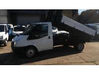 2009 / 59 Ford Transit 2.4TDCi Duratorq ( 100PS ) 350 MWB TIPPER NO VAT