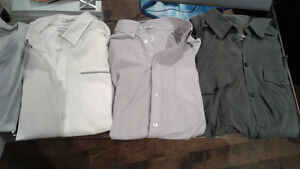 4 Chemises  calvin klein  / HM  + 1 chandail