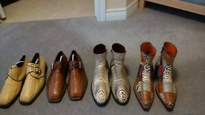 snake skin boots/shoes
