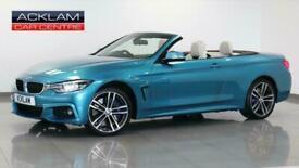 2017 BMW 4 Series 2017 17 BMW 435D 3.0 M Sport xDrive Convertible Diesel blue Au