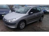2005 Peugeot 206 1.4 8v ( a/c ) auto 2005MY S very low miles