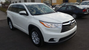 2016 Toyota Highlander LE 8 SEAT SUV, Crossover