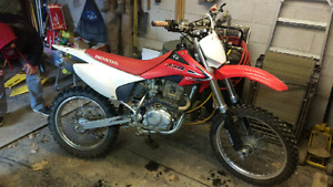 Looking for a crf 230 full exhaust or slip on
