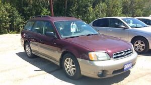 2001 Subaru Outback Wagon $2995 certified and etested