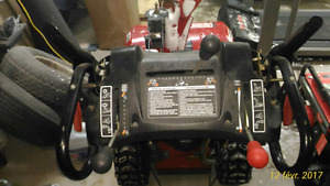 "27"" Craftsman snowblower"