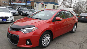 2015 Toyota Corolla S Sedan with Backup Camera***$12,990+HST***