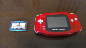 Gameboy Advance with Yu-gi-oh game