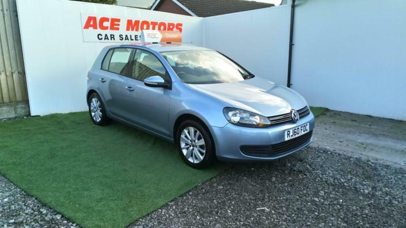 2010 60 VOLKSWAGEN GOLF 1.6TDI MATCH EDITION,5 DR 70,000 MILES WITH FSH