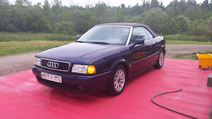 Classic Audi up for grabs