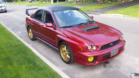 2002 Subaru Wrx for sale as is 4000 or best offer