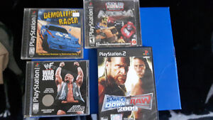 Playstation Games 1 & 2