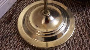 FLOOR LAMP, Faux Brass Cambridge Kitchener Area image 1