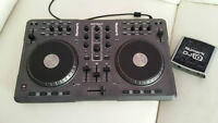 Numark Mixtrack DJ Controller + Numark DJ IO usb audio interface