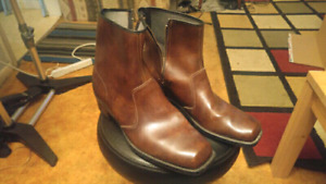 Assorted Fine Leather Boots and Dreas shoes  sz10