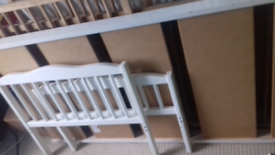 Wooden toddler bed