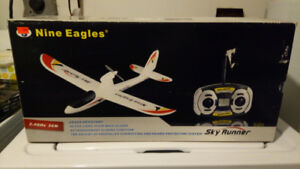 Nine eagles rc  airplane glider ready to fly brand new