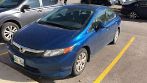 2012 HONDA CIVIC FOR SALE,$9900