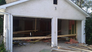 DEMOLITION , GARAGES , STUCCO REMOVAL ,DECKS ,SMALL STRUCTURES