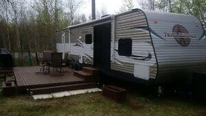 40' Heartland Trailrunner at KOK Campground