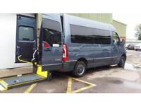 2012 Renault Master MM33 Automatic Wheelchair Disabled Wheelchair Vehicle MWB