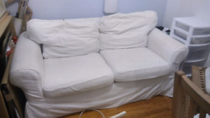 Ektorp two Seater ikea couch sofa