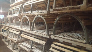 New Wooden Lobster traps 42 44 and 46 bows