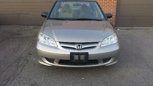 2005 HONDA CIVIC DX –SPECIAL EDITION-SAFETY AND E-TESTED