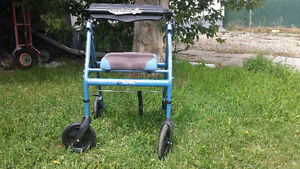 Walker in near new condition  PRICE REDUCED !!!!