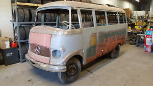 1962 Mercedes Benz O319 D bus