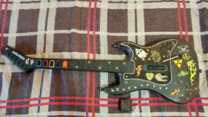 Ps2 Wireless guitar hero guitar and game