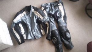 2 piece racing leathers.
