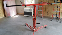 LIKE NEW 11 ft Drywall Hoist - Only used for 2 days