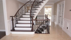 SALE: New or Refinishing Stairs, Railing, Pickets & Posts