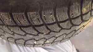 Used winter truck tires 265/60R18
