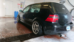 2002 vw golf tdi tuned & on coilovers