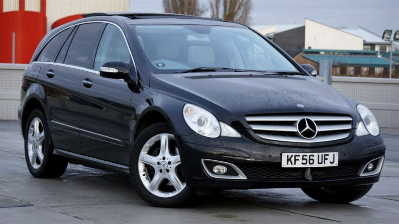2006 56 mercedes benz r320 cdi sport 4 matic 7g tronic for Mercedes benz r320 cdi