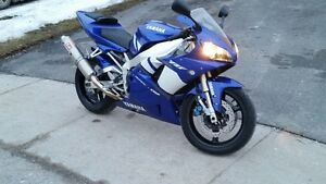 YZF-R1 ... riding weather is almost here