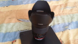 Rokinon 35 mm f/1.4 UMC Lens For Nikon With Automatic AE Chip wi Windsor Region Ontario image 3