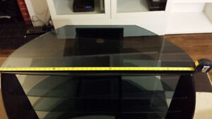 TV Stand: 4 glass levels (Lowered Price)