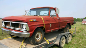 1972 f250 with parts