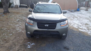 2009 AWD santa fe new mvi 187kms!!