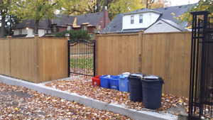 Fence and fence repairs