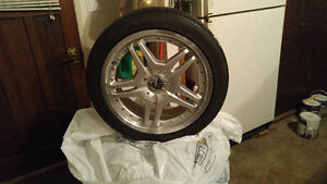 Summer Tires and Alloyed Rims set of 4