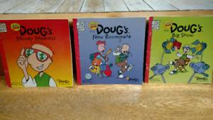 3 Doug's series children's picture books